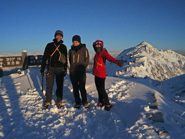 雪山講習会STEP1 北アルプス・燕岳 (14)