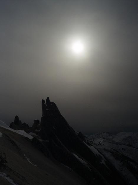 雪山講習会STEP1 北アルプス・燕岳 (4)