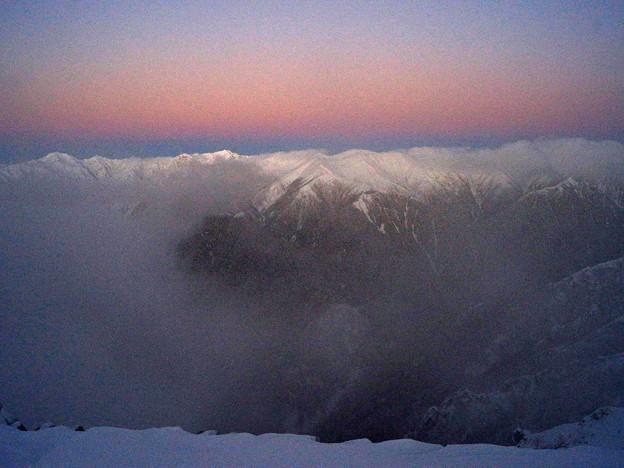 雪山講習会STEP1 北アルプス・燕岳 (9)