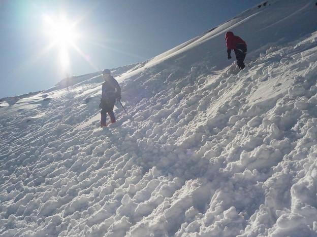 雪山講習会 富士山六合目雪上講習 (5)