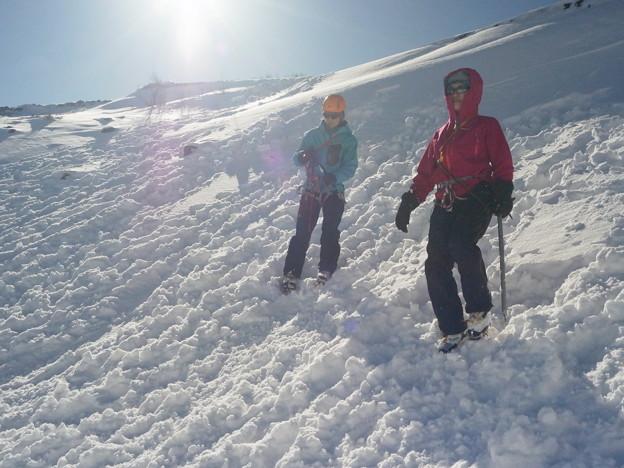 雪山講習会 富士山六合目雪上講習 (10)