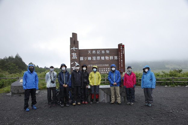 日本の山 空見ハイキング 霧ヶ峰 八島湿原です