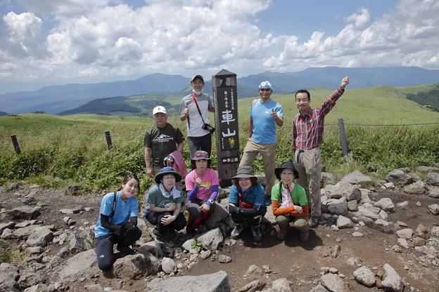 日本の山 空見ハイキング霧ヶ峰 最後に車山へ