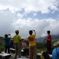 Photos: 日本の山 空見ハイキング 立山 天狗平で空見解説