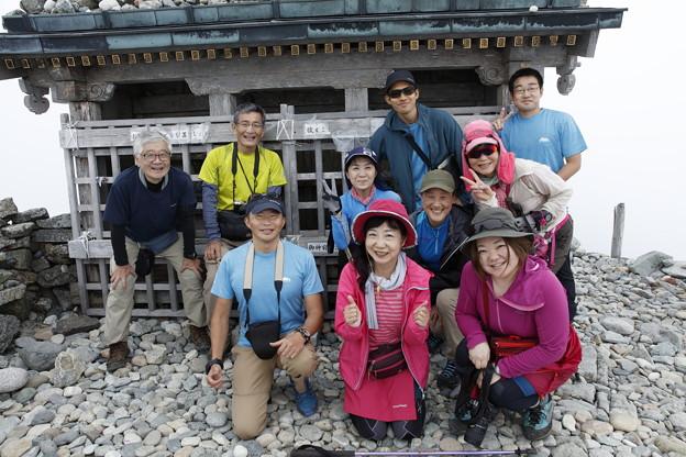 日本の山 空見ハイキング 立山 雄山山頂です! #山へ行こうよ。 #アルパインツアー