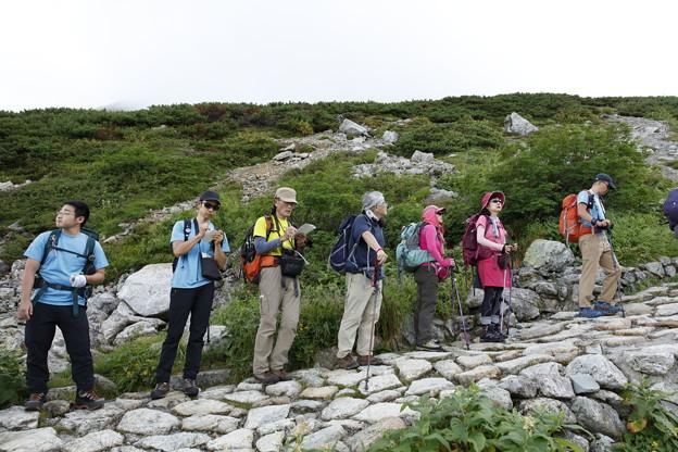 日本の山 立山連峰・空見ハイキング 室堂上部より