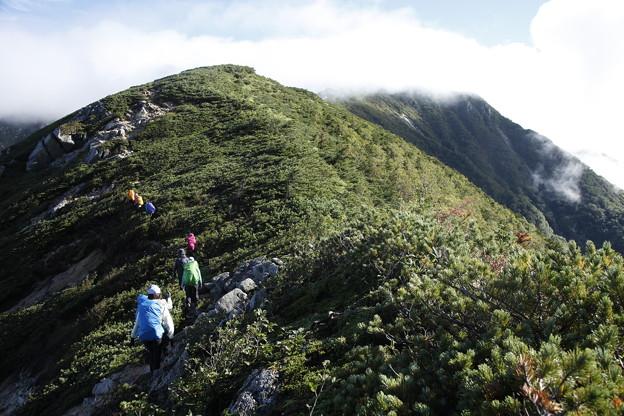 日本の山 中ア南駒ヶ岳・空木岳縦走3日間 仙涯嶺を越えて