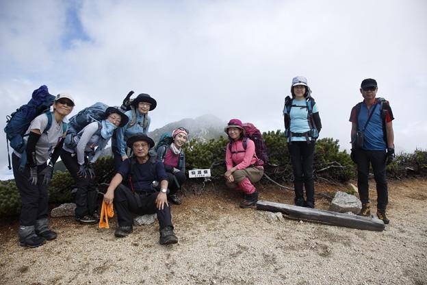 日本の山 中央アルプス縦走 仙崖嶺まで来ました #山へ行こうよ。 #アルパインツアー