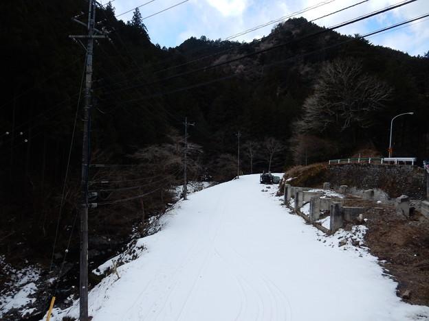 写真: 残雪