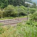 写真: 国鉄小仏信号場跡