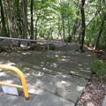 写真: 階段上