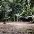 写真: 鳩峯八幡神社と八坂神社