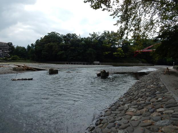 流れ橋 流出