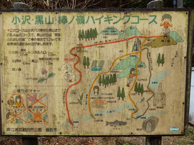 小沢、黒山、棒ノ嶺