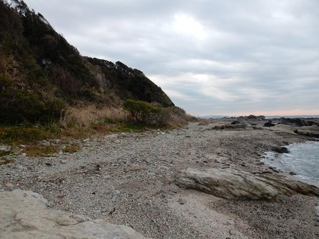 松輪の海岸