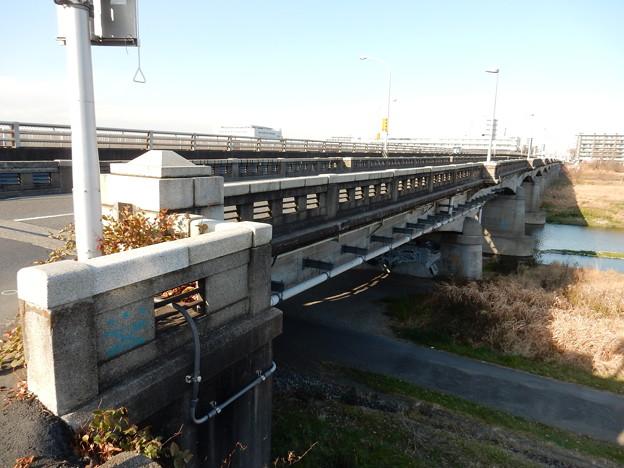 撤去される前に関戸橋
