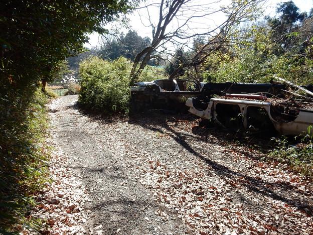 Photos: 逆さ廃車