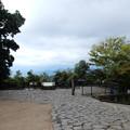 Photos: 高尾山大見晴園地にドローン