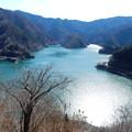 Photos: 八方岩展望台から奥多摩湖