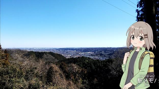 天竺山展望