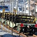 Photos: レール輸送の貨物列車
