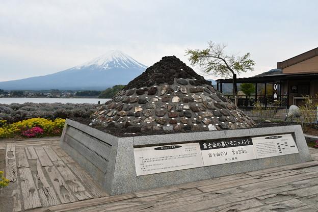 富士山と小富士山?