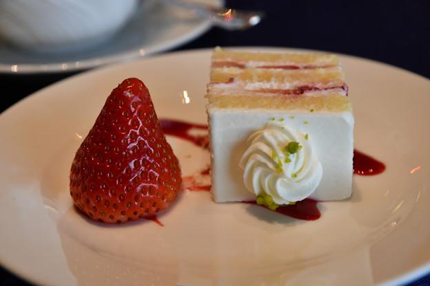 イチゴとケーキ