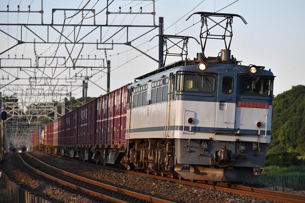 貨物列車 (EF652089)