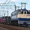 写真: 貨物列車 (EF652070)