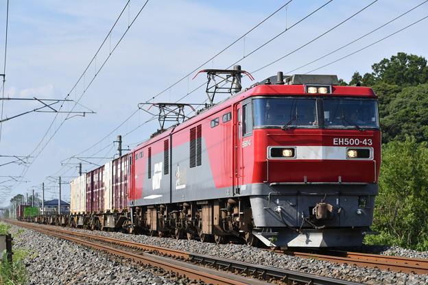 Photos: 貨物列車 (EH500-43)