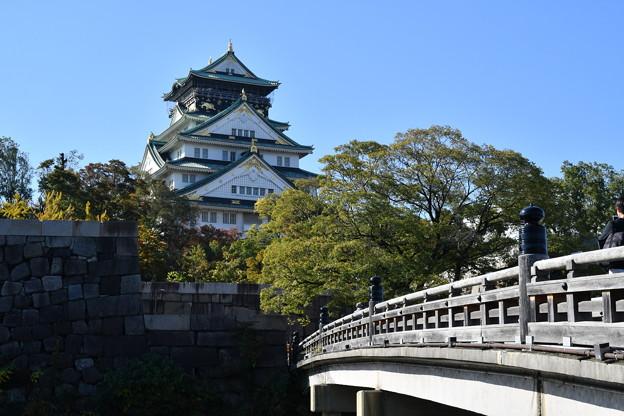 極楽橋と大阪城