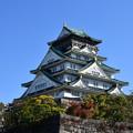 写真: 大阪城、内堀の外から撮影