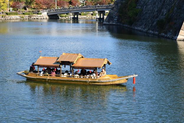 大阪城公園の遊覧船