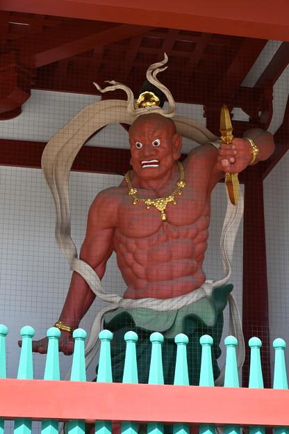 四天王寺 中門の那羅延金剛力士