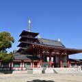 Photos: 四天王寺 中門と、五重塔