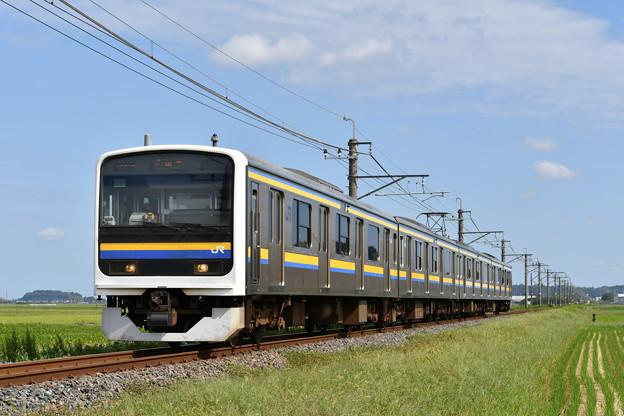 成田線普通列車@209系