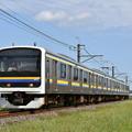 Photos: 成田線普通列車@209系