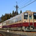 Photos: 東武鬼怒川線普通列車 (6050旧塗装付き)