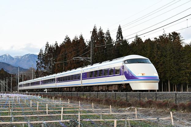 東武鉄道100系スペーシア 「雅」編成 (特急きぬ142号)