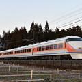 東武鉄道100系スペーシア 「サニーコーラルオレンジ」編成 (特急きぬ140号)
