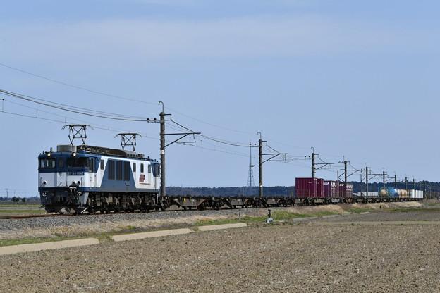 Photos: 貨物列車 (EF641047)