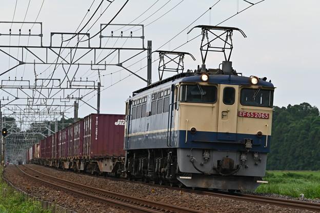 Photos: 貨物列車 (EF652065)
