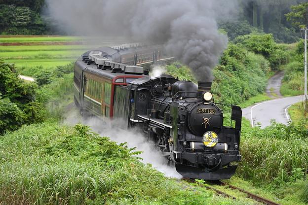 SLばんえつ物語 上り (C57180)