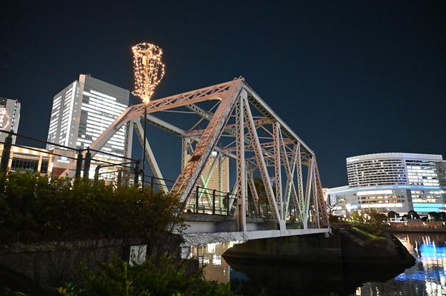 汽車道の鉄橋