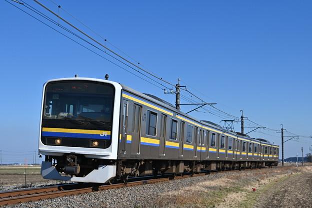 成田線普通列車 (209系)