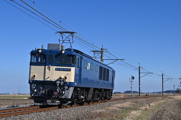 EF641045単機回送