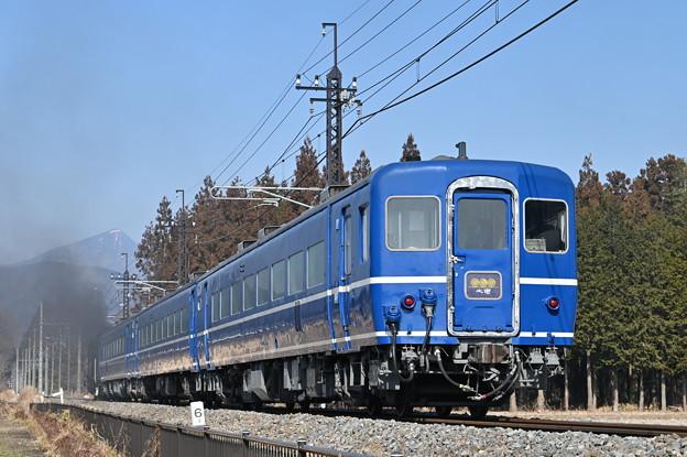 SL大樹5号 後追い (14系客車)