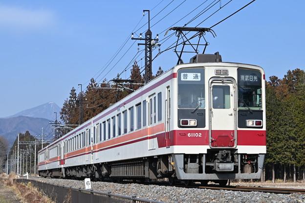 東武鬼怒川線 普通列車 (6050系)