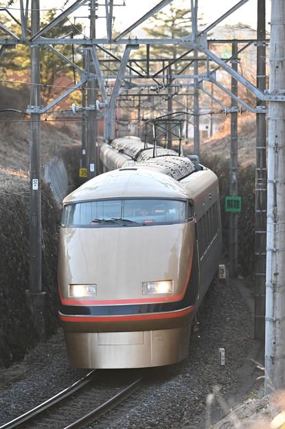 東武鉄道100系スペーシア 「日光詣」編成 回送