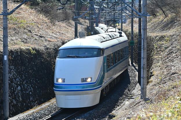 東武鉄道100系スペーシア 「粋」編成 (特急きぬ105号)